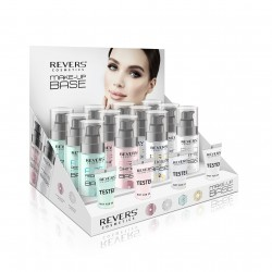 REVERS MAKE-UP BASE - ANTI REDNESS  / PRO SHINING / PRO FIXER / PRO MATTE