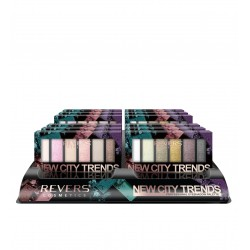 REVERS Cienie do powiek NEW CITY TRENDS, PROFESSIONAL EYESHADOW PALETTE