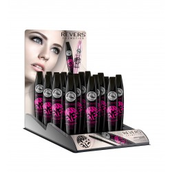 REVERS Tusz do rzęs MAXI EYES Lenght & Volume Mascara
